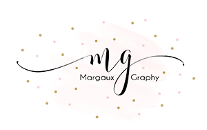 Logo Margaux Graphy | Photographe | Guérande (44)